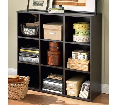 bedford 3 x 3 bookcase pottery barn