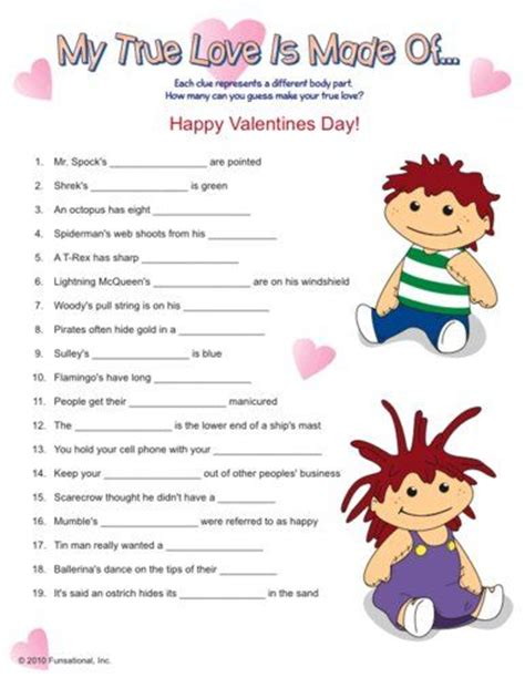 free printable christian valentine games for adults valentines my true love and love is on pinterest