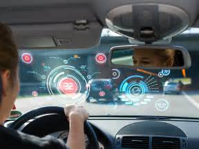 Connected Cars Ces 2015 Connected Cars Ces 2015 Hud S Or Head S Up Display Is
