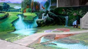 Ideas For Bedroom Paint biggest 3d mural painting in the philippines 3d painting