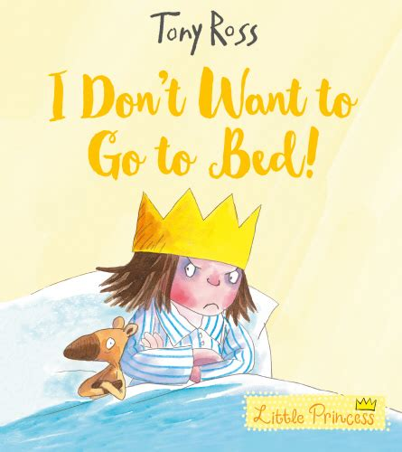 i don t want to go to bed andersen press