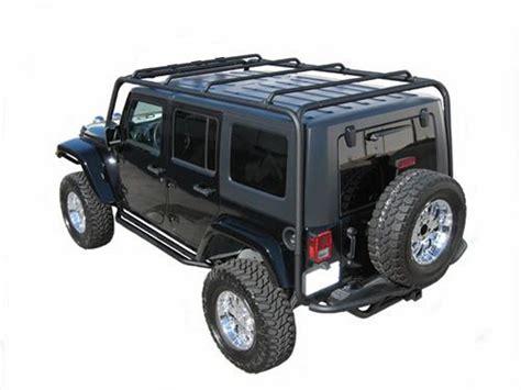 jeep trail rack j029t trail fx tubular roof rack jeep wrangler jk 2007