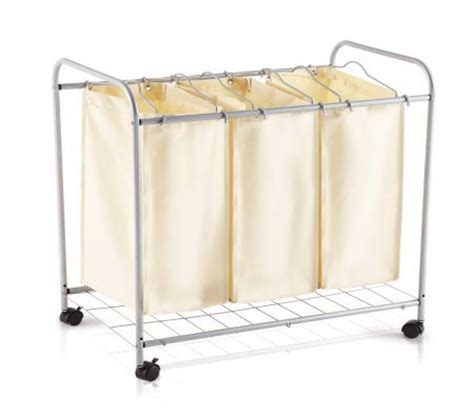 compartment laundry 3 compartment laundry basket trolley shopping shopping square au bargain