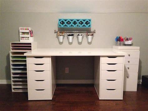 ikea desk storage ikea desk hobby lobby storage craft workspace project pinterest