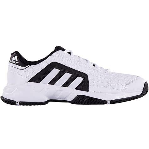 adidas barricade court 2 mens tennis shoe white black