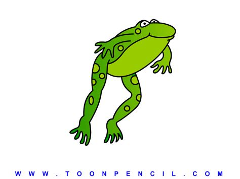 Frog Jumping Clipart leaping frog free clipart clipart suggest