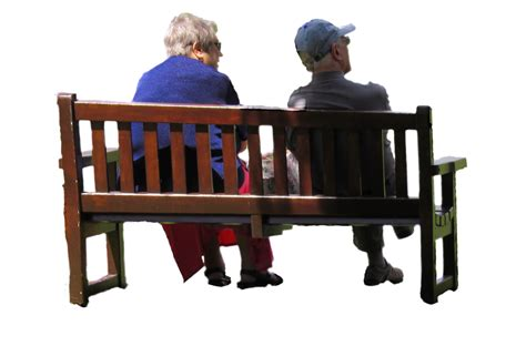 bench couple watch old couple on park bench png stock by supersnappz16 on