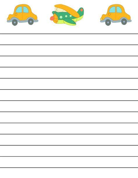 lined writing paper for kindergarten free regular lined