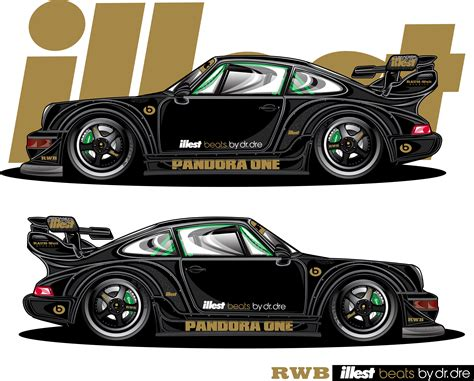 rwb porsche logo illest rwb pandora one porsche rendered by jdm ego sick