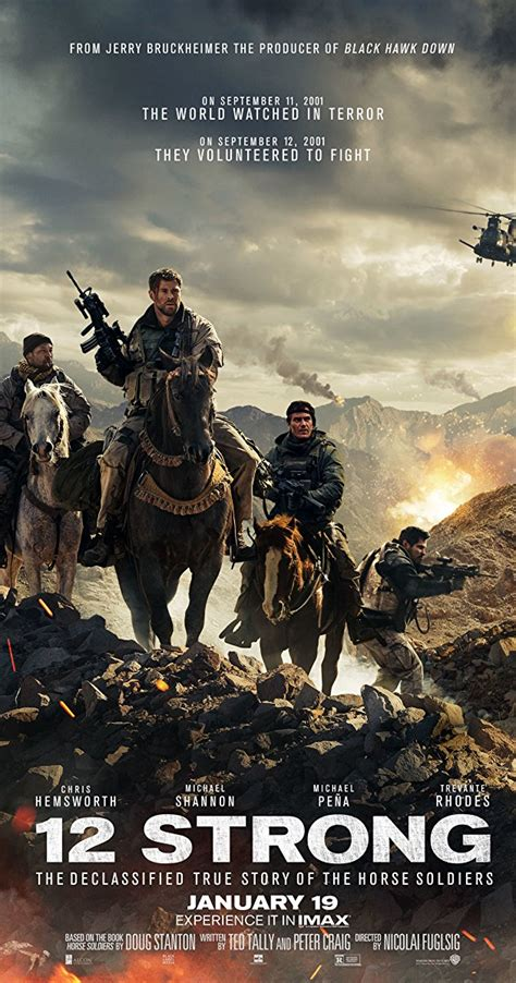 Or 2018 Cast 12 Strong 2018 Imdb