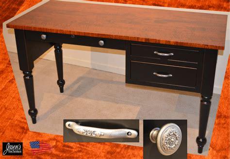 amish desk amish desk in tiger maple jasens furniture