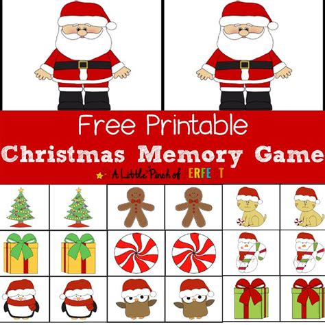 printable concentration games for kindergarten 17 best images about christmas ideas on pinterest early
