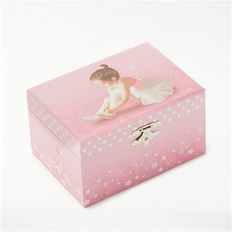 Jo In Storage Jewelry Box Pink buy lewis ballerina musical jewellery box small