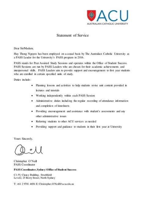 Reference Letter Purpose statement letter notarized letter templates 27 free