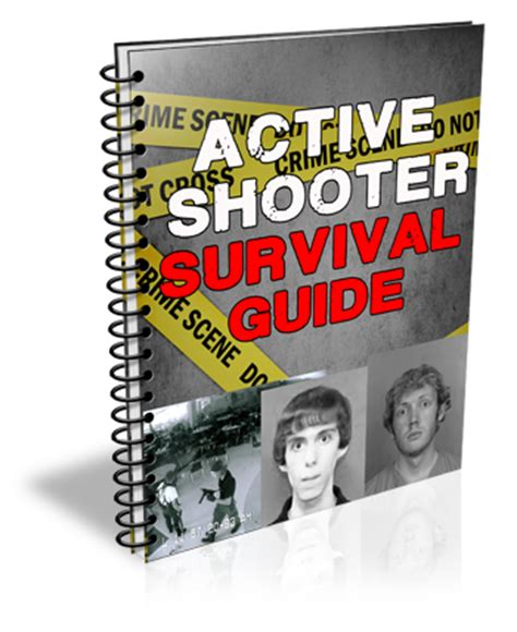 active shooter survival guide 21 lifesaving lessons on how to survive a deadly active shooter situation books active shooter survival guide