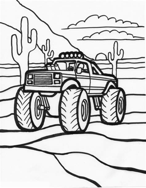 printable coloring pages trucks free printable truck coloring pages for