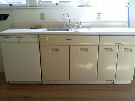 redo old metal kitchen cabinets painting vintage metal kitchen cabinets steel kitchen