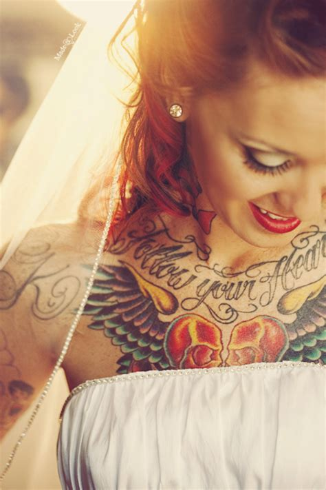 tattoo fail bride made u look photography tattooed brides and vintage