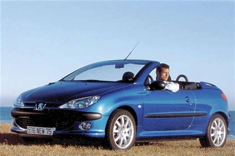 peugeot 206 convertible interior peugeot 206 coupe cabriolet 2000 2007 used car review
