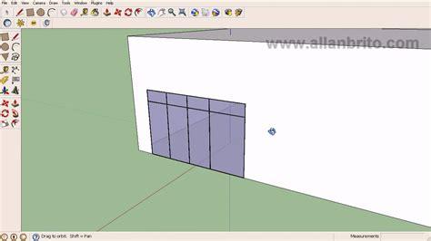 tutorial sketchup youtube español tutorial sketchup modelagem de esquadrias para maquetes