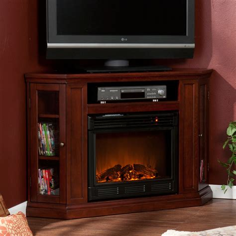 claremont 48 in cherry convertible media fireplace 37 fe9310