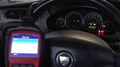 autel md jaguar check engine warning light p p youtube
