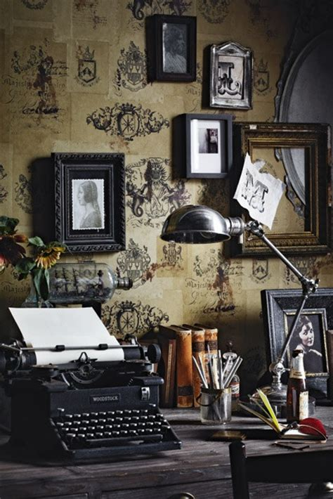 Vintage Office by Decorating An Office With Vintage Accessories Rustic