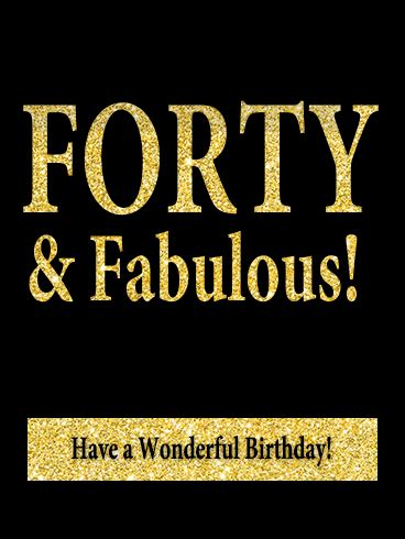 funny 40 year old birthday cards image collections free