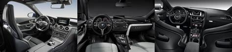 Bmw Vs Mercedes Interior by The New Mercedes Amg C63 Vs Bmw M3 And Audi Rs4