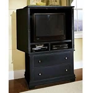 Bassett Furniture Armoire Cottage Armoire Entertainment Center Black