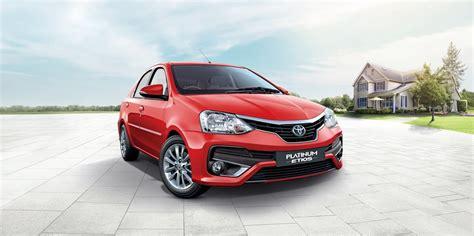 Toyota Etios India Toyota Etios Platinum India S Best Family Sedan Gets Better