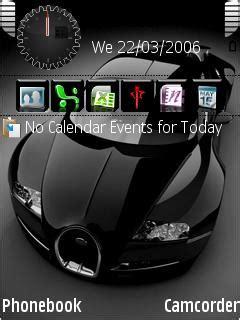 mobile themes black download black veyron nokia theme mobile toones