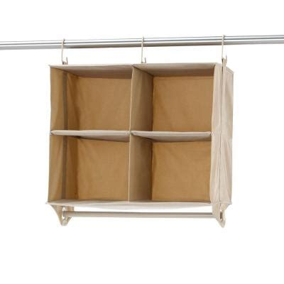 cubby closet organizer home decorators collection closetmax 24 25 in 4 cubby