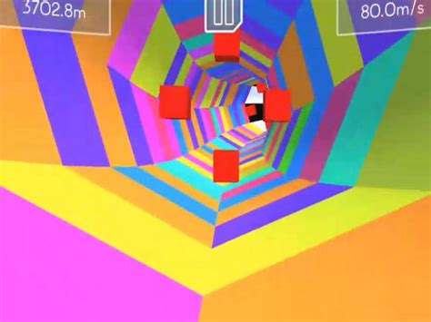 tunnel rush   game pomu games