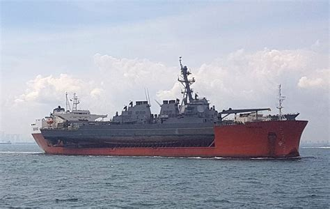 js boat transport u s navy transporting uss john s mccain to japan for
