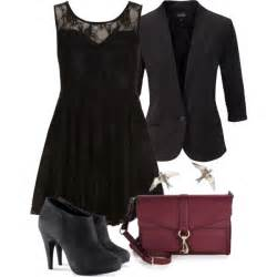 Fashion look from january 2014 featuring see through dresses blazer