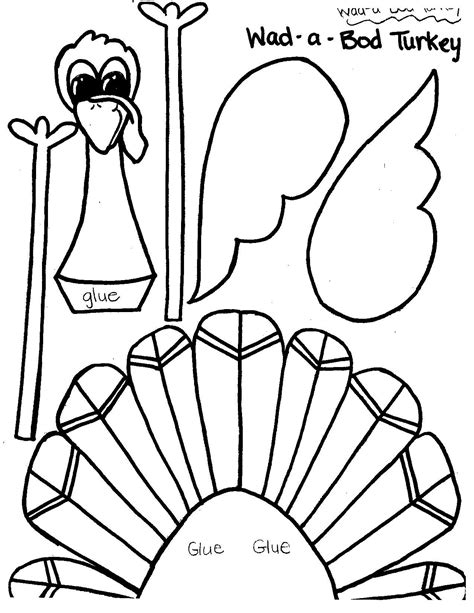 printable turkey crafts printable thanksgiving crafts and activities for kids