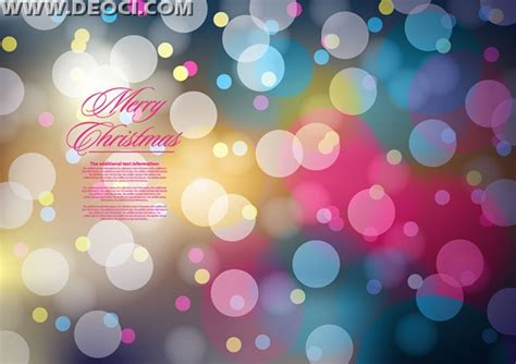 christmas poster background design template ai download