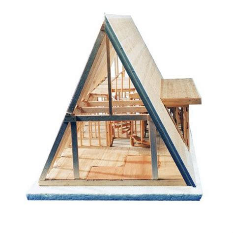 a frame cabin kits midwest products 101 ic a frame cabin crafts kit for
