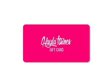 Can Gift Cards Be Used Internationally - kayla itsines gift card