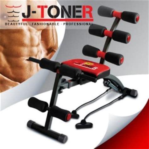 Alat Fitnes J Toner j toner jaco alat fitnes pembentuk badan six pack secara cepat