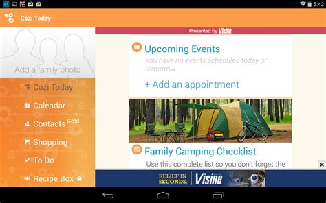 Cozi Family Calendar Cozi Family Calendar Lists For Kindle Hd