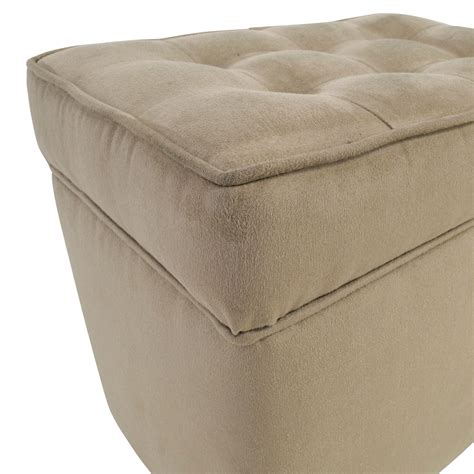 Tufted Storage Ottoman 80 Beige Tufted Ottoman With Storage Chairs