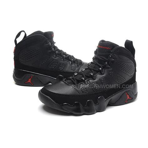 women jordan 9 c girls air jordan 9 gs all black for womens on sale online