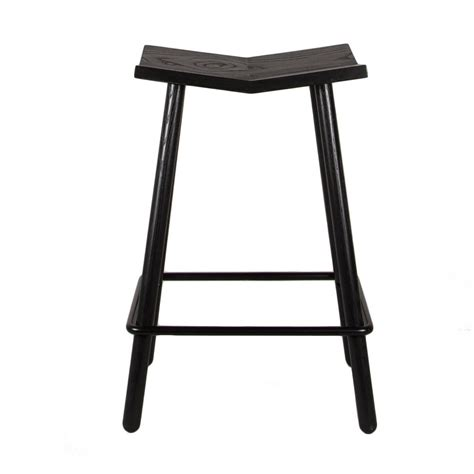 modern counter height bar stools modern black mitre wooden stool contemporary counter