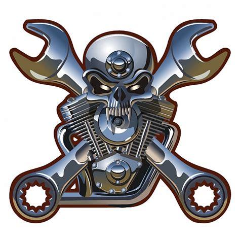 Kaos Skull Piston Na 144 motorhead crach 225 vector baixar vetores gr 225 tis