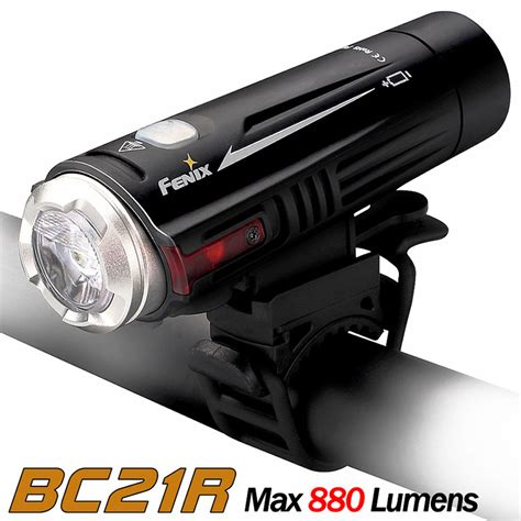 rechargeable led bike lights fenix bc21r rechargeable led bike light