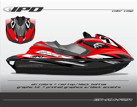 Yamaha Jet Ski Sticker by Yamaha Fzr Fzs Graphics Kits Ipd Jet Ski Graphics