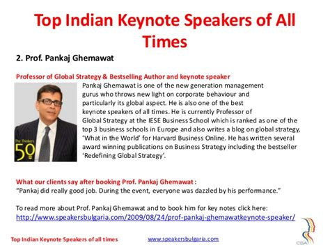 Csa Mba Rank by Top 10 Indian Keynote Speakers Of All Times