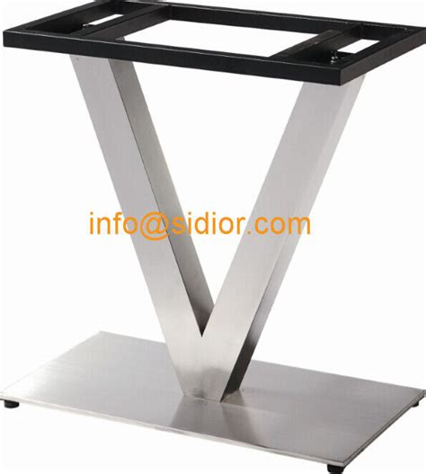 stainless steel bench legs stainless steel table base square dining table leg desk furniture legs sd 739